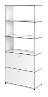 USM Haller Storage Unit with 2 Doors, without upper Rear Panels