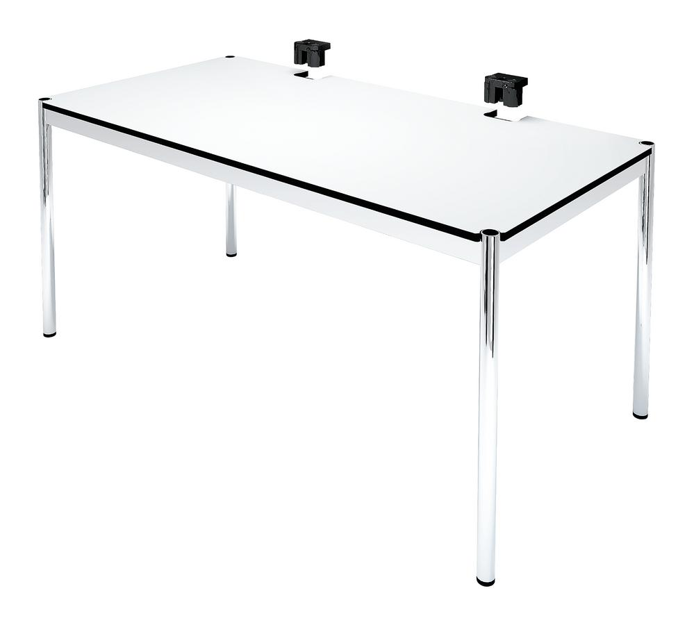 usm haller table plus by usm designer furniture by. Black Bedroom Furniture Sets. Home Design Ideas
