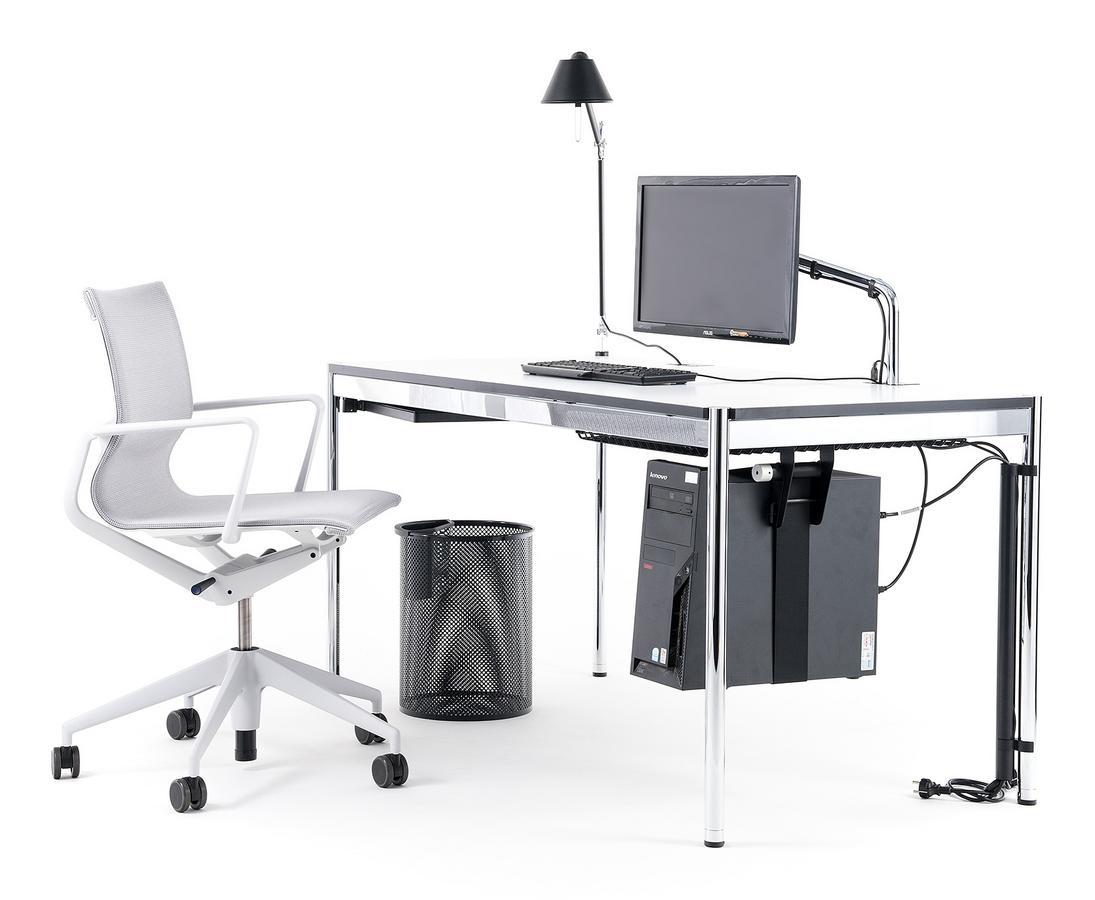 usm haller table plus by usm designer furniture by. Black Bedroom Furniture Sets. Home Design Ideas