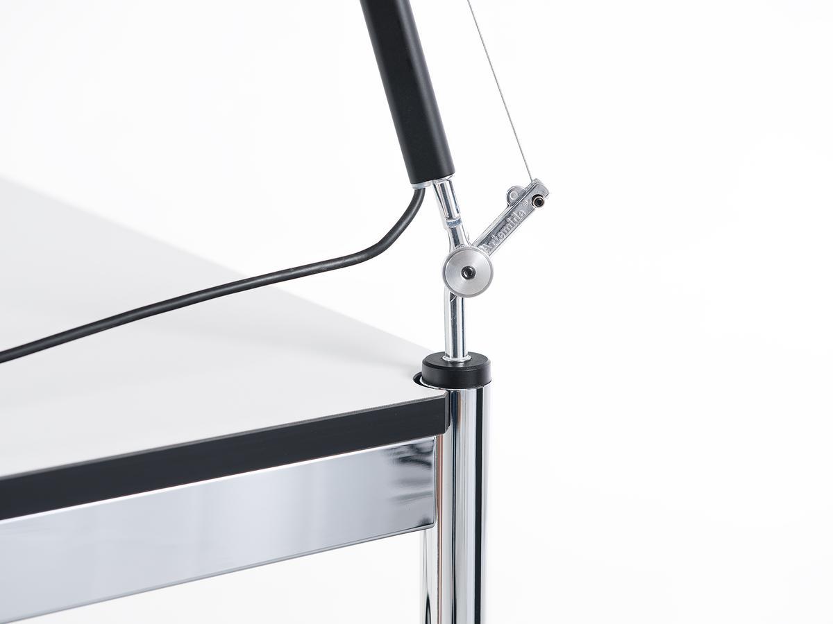 usm haller usm lamp peg for usm haller table by usm. Black Bedroom Furniture Sets. Home Design Ideas