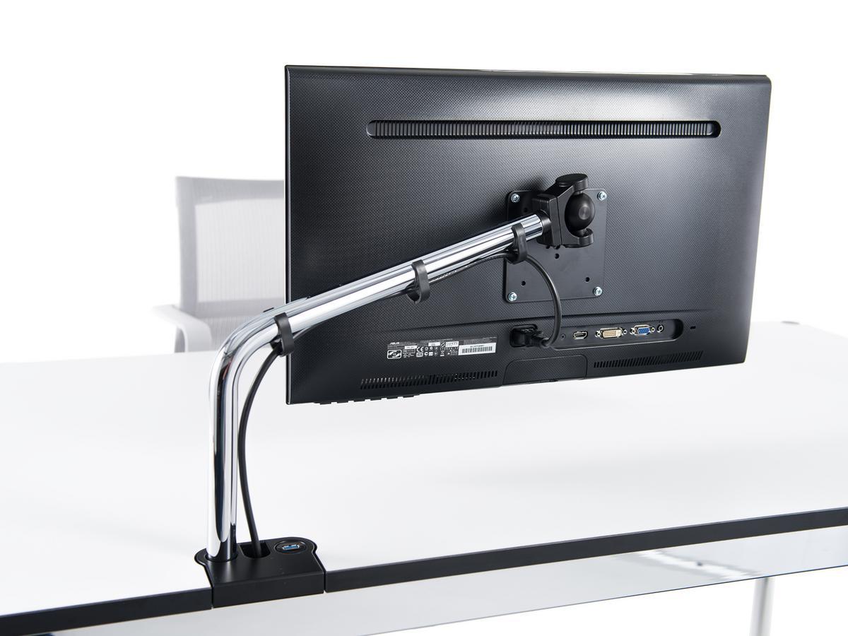 usm haller usm flat screen support arm for usm haller table by usm designer furniture by. Black Bedroom Furniture Sets. Home Design Ideas