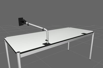 USM Flat Screen Support Arm for USM Haller Table