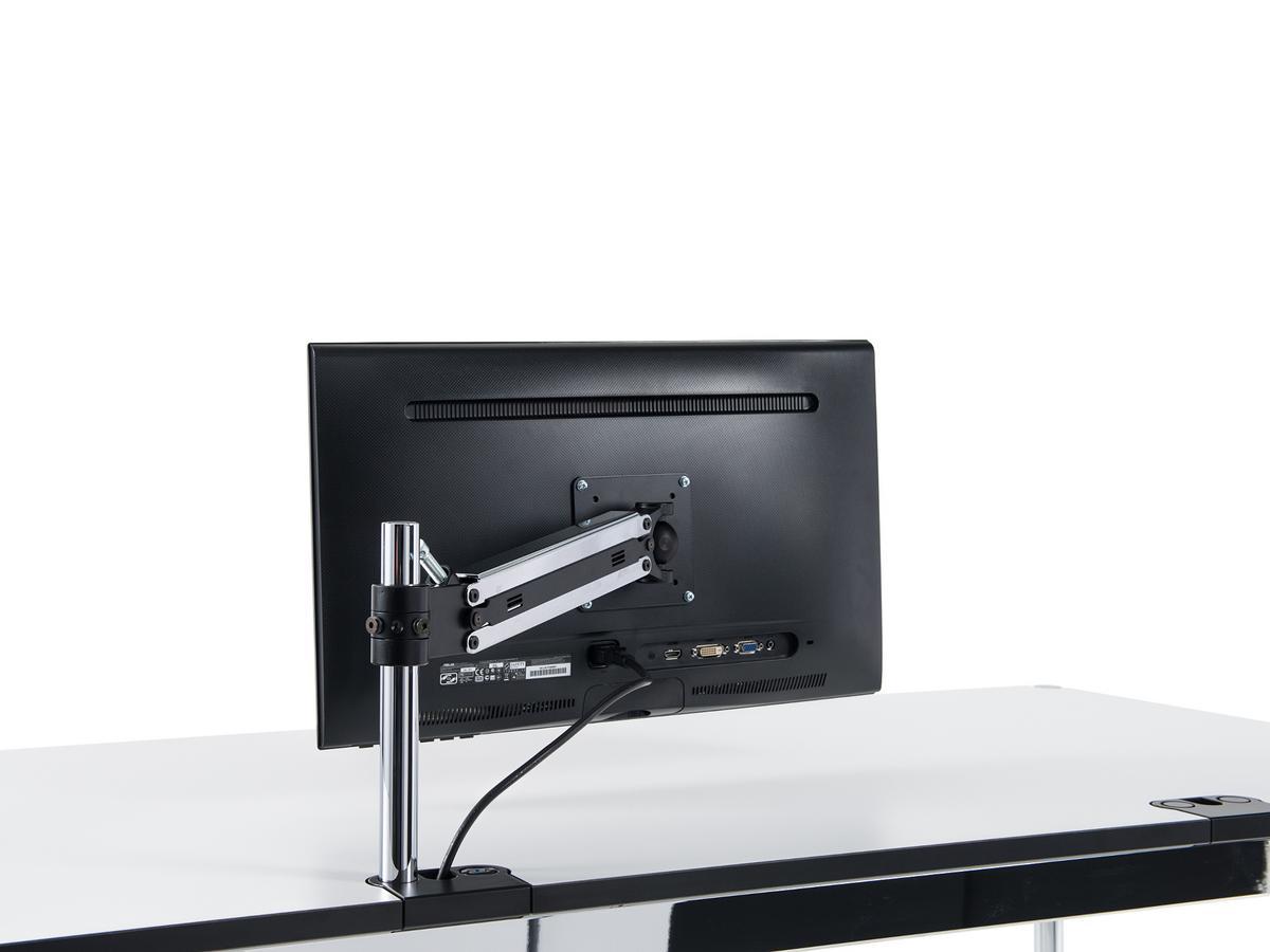 usm haller usm flat screen swing arm for usm haller table. Black Bedroom Furniture Sets. Home Design Ideas