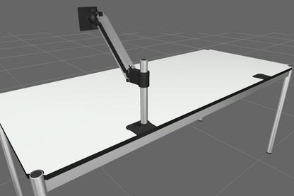 USM Flat Screen Swing Arm for USM Haller Table