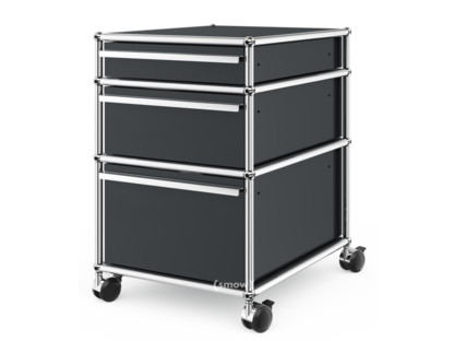 USM Haller Mobile Pedestal with 3 Drawers Type II (with Counterbalance)