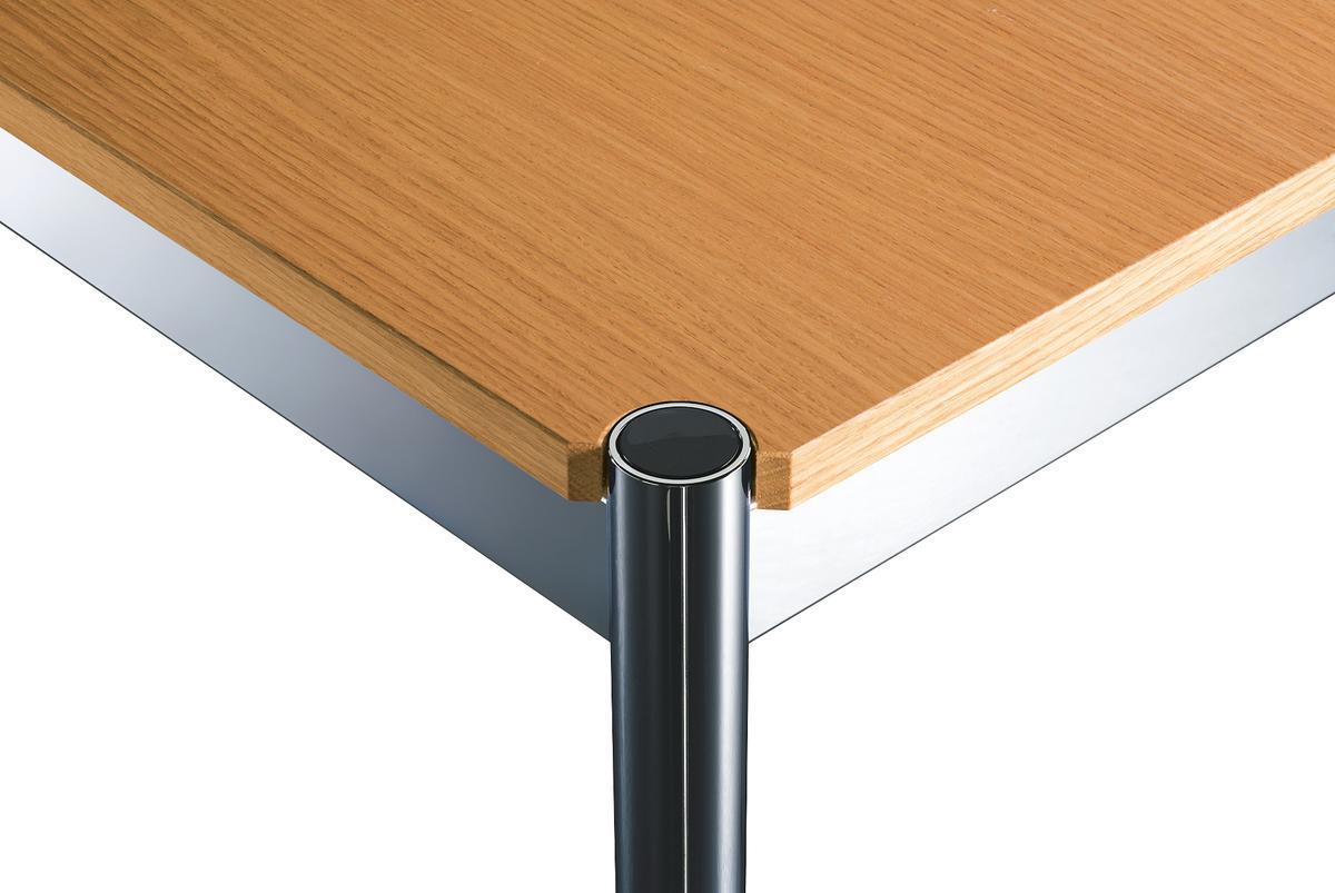 usm haller table wood by fritz haller paul sch rer 1962 designer furniture by. Black Bedroom Furniture Sets. Home Design Ideas