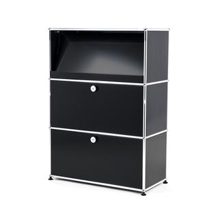 USM Haller Highboard M with Angled Shelf