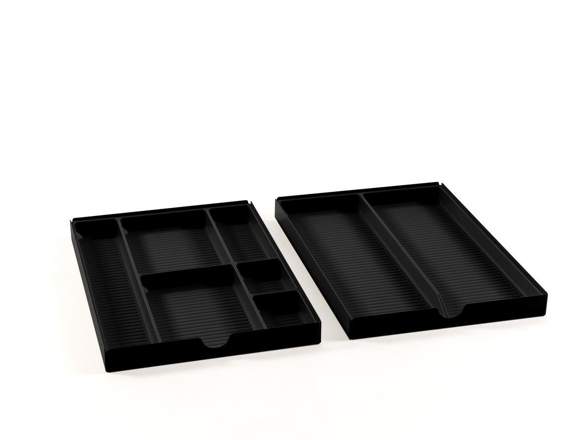 usm haller usm inos organising set for low drawer mobile. Black Bedroom Furniture Sets. Home Design Ideas