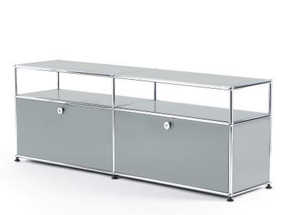 USM Haller TV-Board with Extension USM matte silver