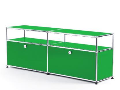USM Haller TV-Board with Extension USM green