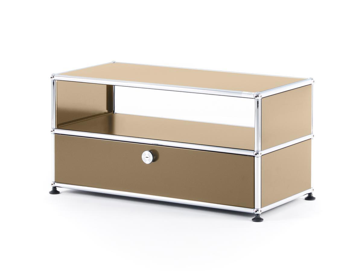 usm haller tv bench usm beige by fritz haller paul. Black Bedroom Furniture Sets. Home Design Ideas