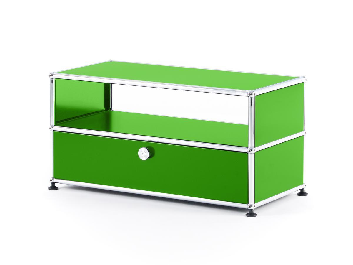 usm haller tv bench usm green by fritz haller paul. Black Bedroom Furniture Sets. Home Design Ideas