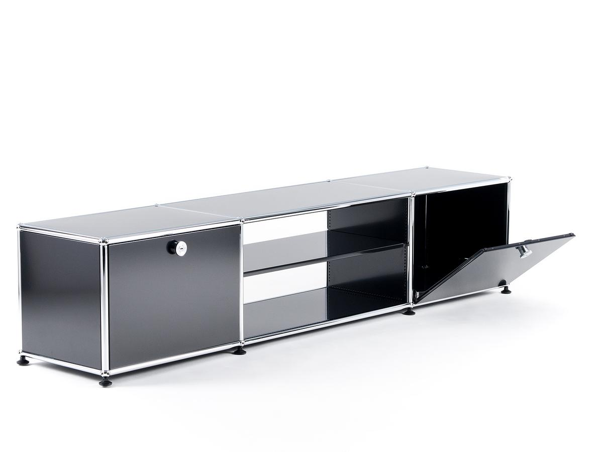 usm haller tv table by fritz haller paul sch rer. Black Bedroom Furniture Sets. Home Design Ideas