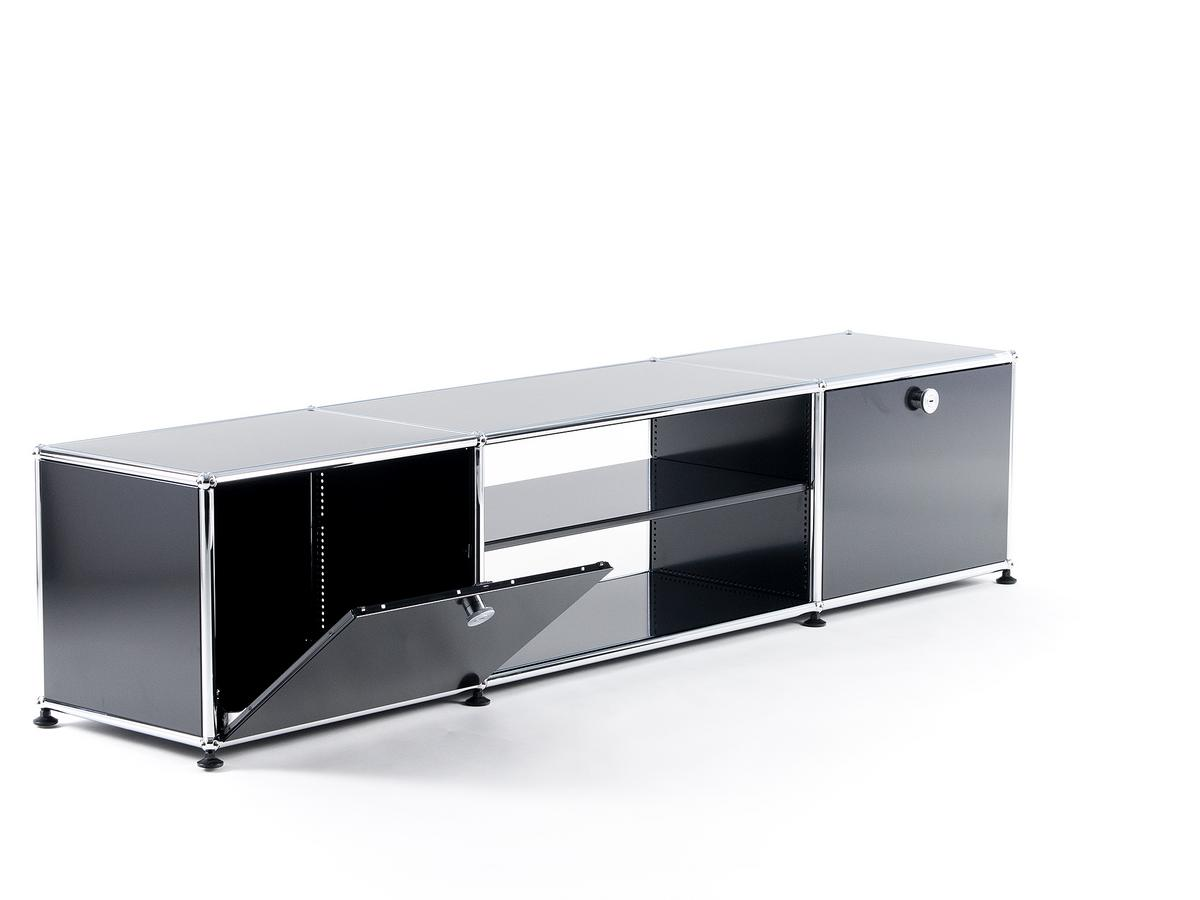 usm haller tv table by fritz haller paul sch rer designer furniture by. Black Bedroom Furniture Sets. Home Design Ideas