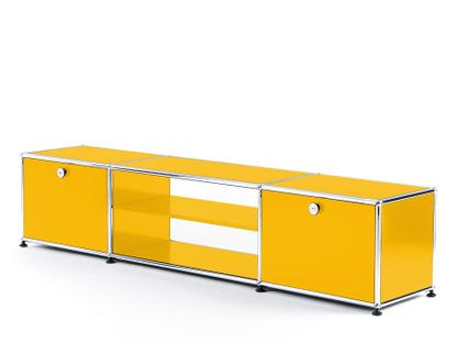 USM Haller TV-Table Golden yellow RAL 1004