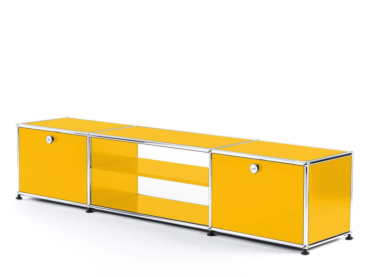 Usm Haller Tv Table Golden Yellow Ral 1004 By Fritz Haller Paul