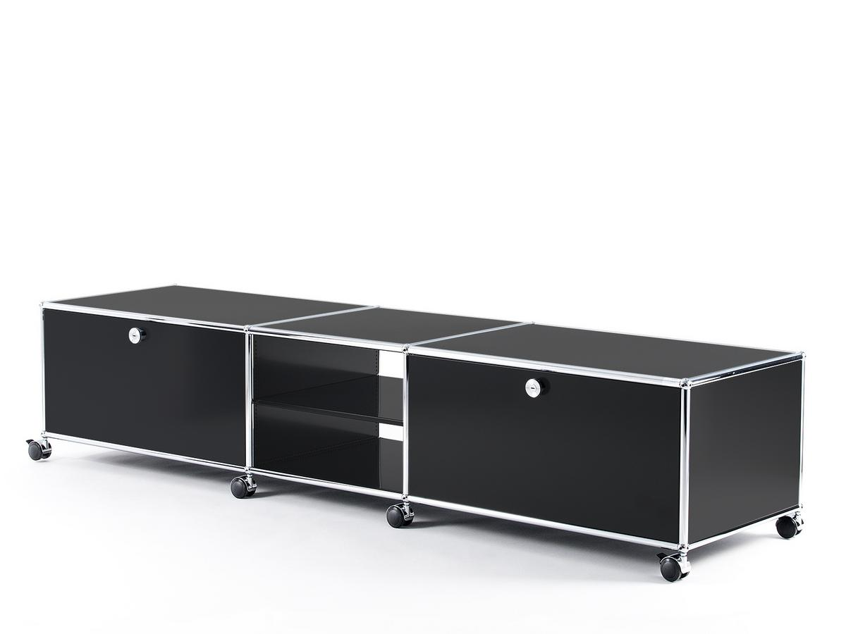Tv lowboard schwarz