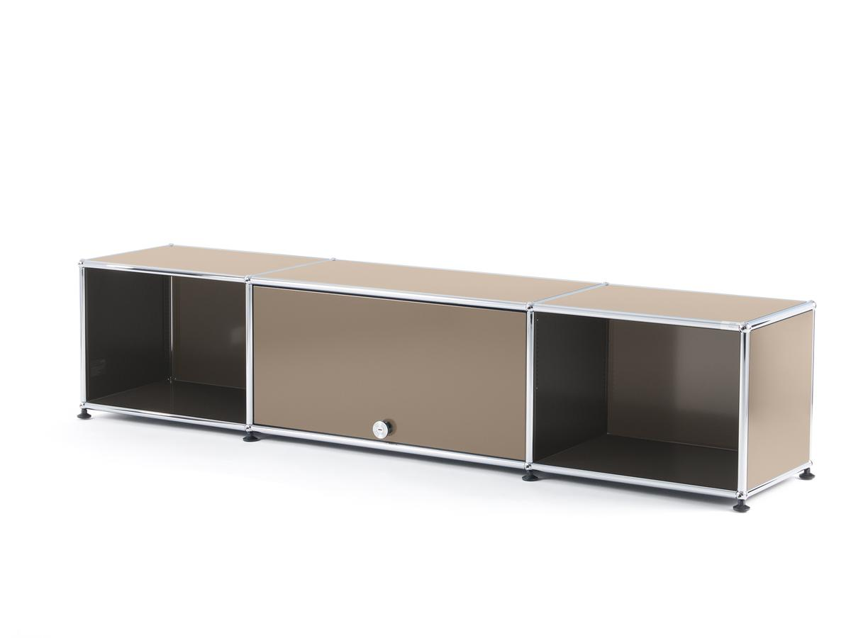 Trentotto Usm Meuble Tv - Usm Haller Tv Lowboard With Flip Up Door Usm Beige By Fritz [mjhdah]https://www.smow.com/pics/uh-138-000/usm-haller-tv-bank-gruen-01_zoom.jpg