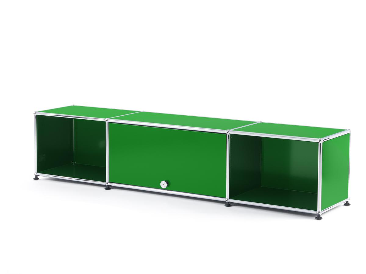 Brilliant Lowboard Fernseher Ideen Von Usm Haller Tv-lowboard With Flip-up M Green