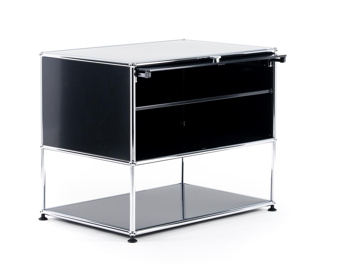 usm haller tv rack by fritz haller paul sch rer designer furniture by. Black Bedroom Furniture Sets. Home Design Ideas
