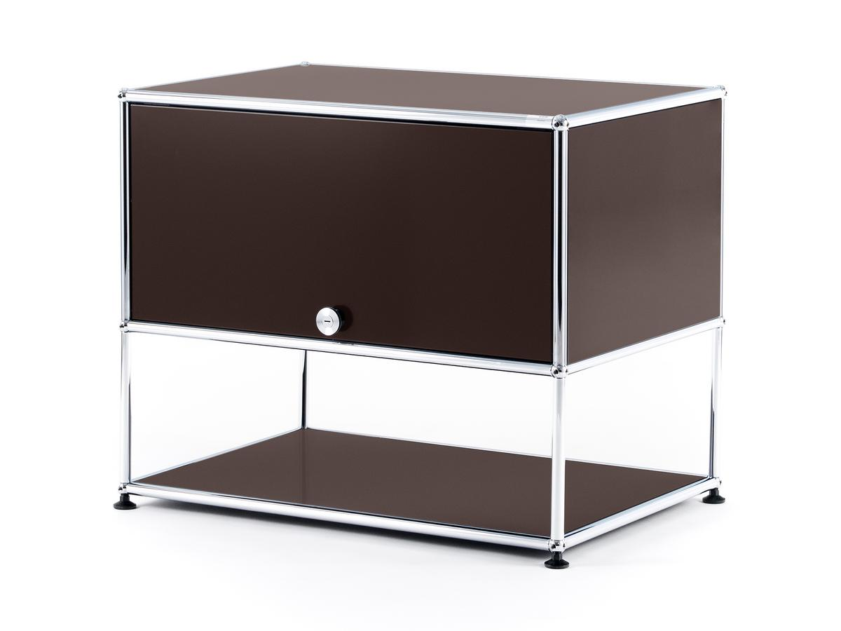 Usm haller tv rack usm brown by fritz haller paul for Usm haller braun