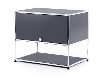 USM Haller TV-Rack Mid grey RAL 7005