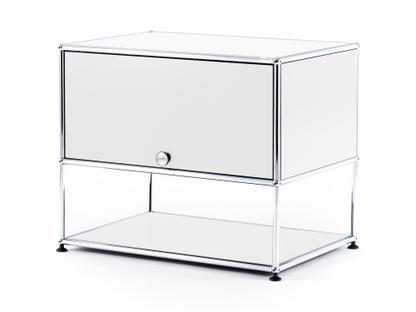 USM Haller TV-Rack Pure white RAL 9010