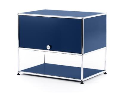 USM Haller TV-Rack Steel blue RAL 5011