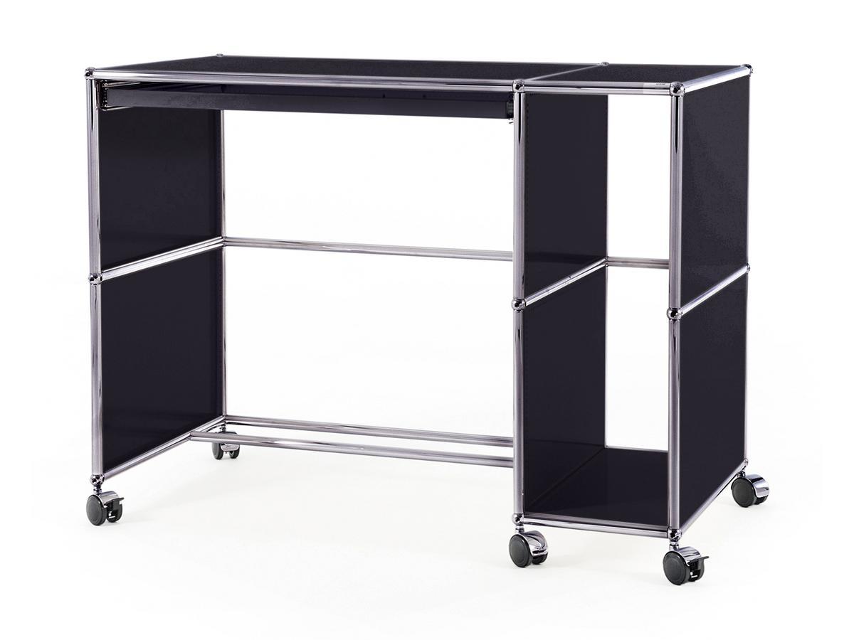 usm haller desktop on castors type 1 by fritz haller paul sch rer designer furniture by. Black Bedroom Furniture Sets. Home Design Ideas