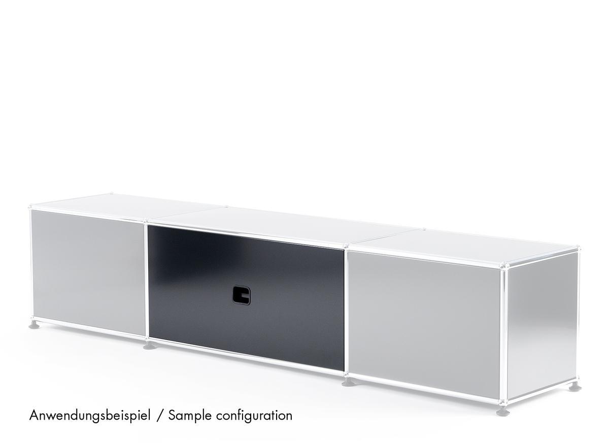 usm haller panel with cable cut out by fritz haller paul. Black Bedroom Furniture Sets. Home Design Ideas