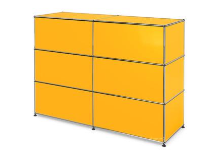 USM Haller Counter Type 1 Golden yellow RAL 1004 150 cm (2 elements) 50 cm