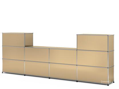 USM Haller Counter Type 3 USM beige|35 cm