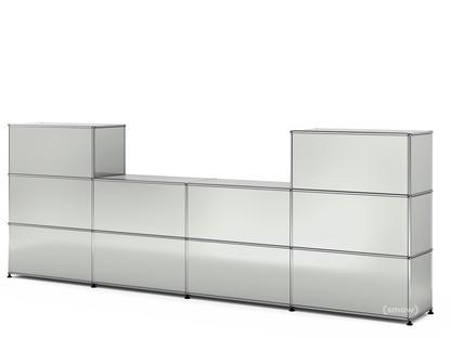 USM Haller Counter Type 3 Light grey RAL 7035|35 cm