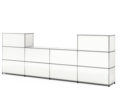 USM Haller Counter Type 3 Pure white RAL 9010|35 cm