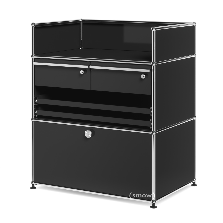 usm haller surgery sideboard graphite black ral 9011 all. Black Bedroom Furniture Sets. Home Design Ideas