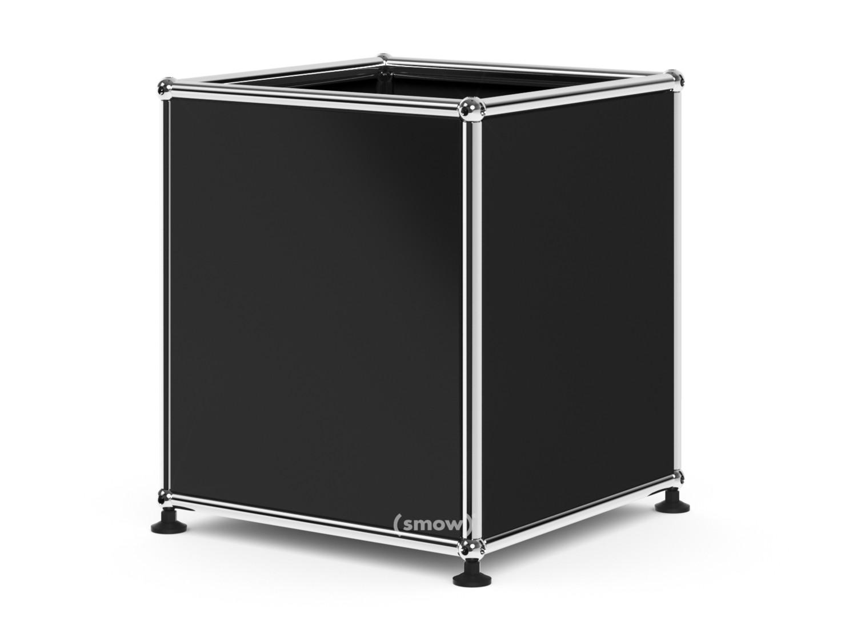 blacks furniture. USM Haller Cube 35 X Cm|Graphite Black RAL 9011 Blacks Furniture