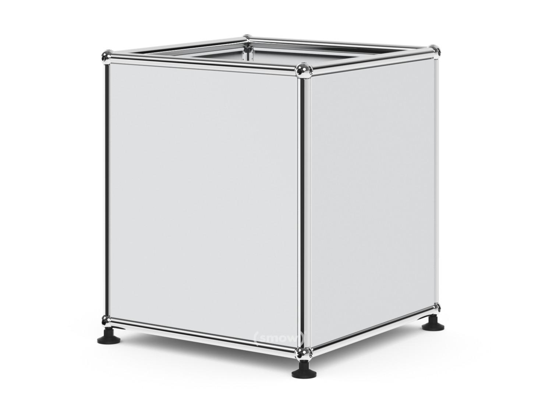 USM Haller Cube 35 X 35 Cm|USM Matte Silver