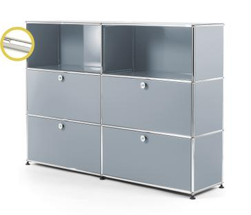 USM Haller E Highboard L with Compartment Lighting