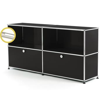 USM Haller E Sideboard L with Compartment Lighting