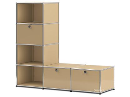 USM Haller Clothes Rack/Bench USM beige