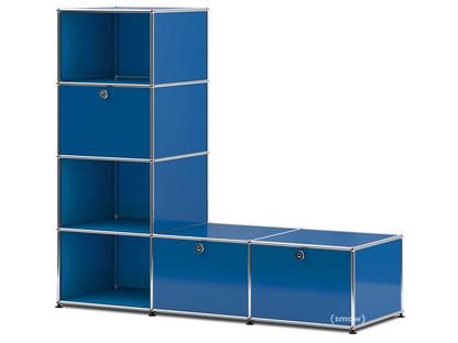 USM Haller Clothes Rack/Bench Gentian blue RAL 5010