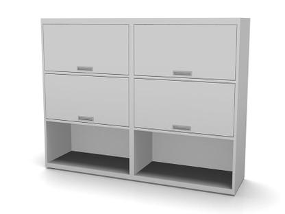 Vario M1 Highboard L with 4 Flap Doors