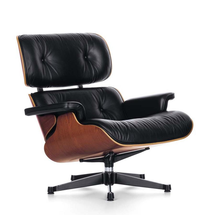 vitra lounge chair by charles ray eames 1956 designer. Black Bedroom Furniture Sets. Home Design Ideas