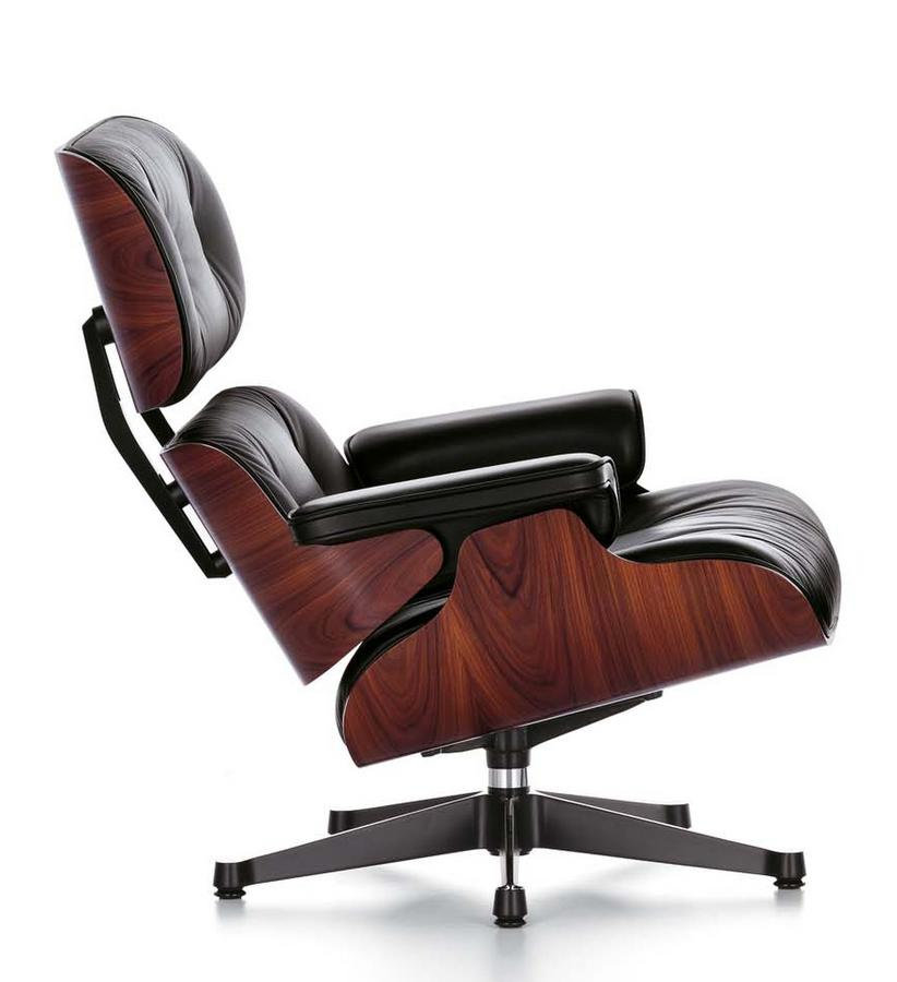 Vitra lounge chair by charles ray eames 1956 designer furniture by s - Lounge chair eames prix ...