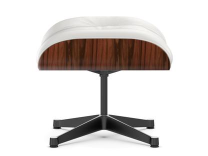 Lounge Chair Ottoman Santos Palisander|Snow|Aluminium polished, sides black