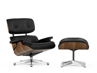 vitra lounge chair ottoman by charles ray eames 1956 designer