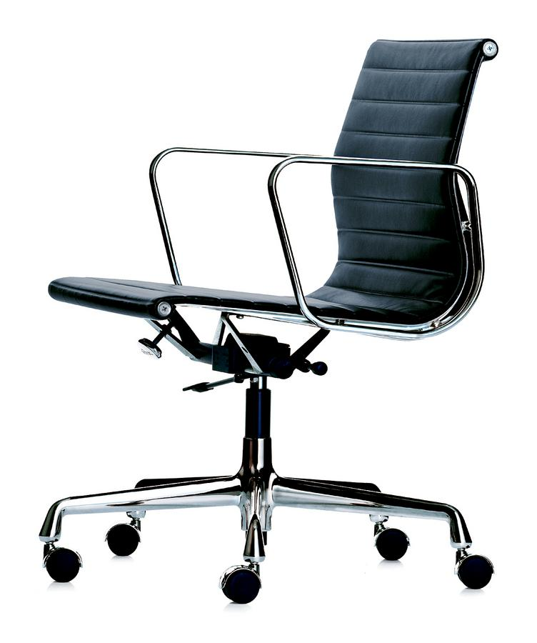 eames aluminium group ea 219 high back office chair black pictures to. Black Bedroom Furniture Sets. Home Design Ideas