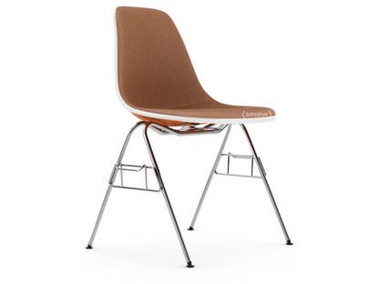 6 Avail Herman Miller Eames Fiberglass Side Shell Chairs Orange Narrow Mount