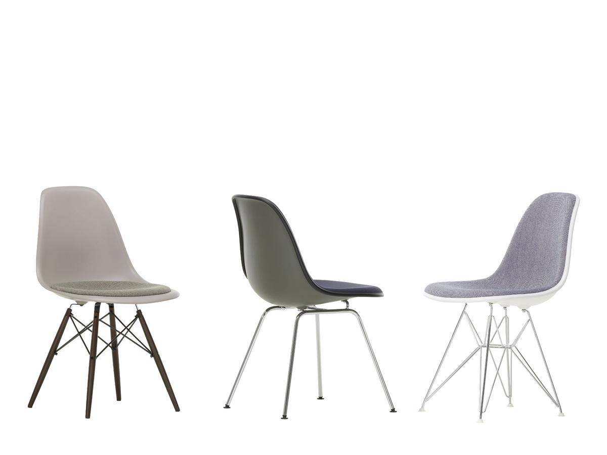 vitra eames dsw side chair black chairs model. Black Bedroom Furniture Sets. Home Design Ideas