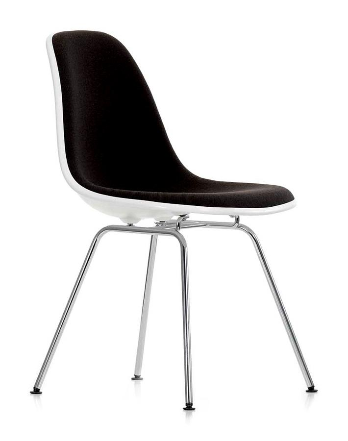 vitra eames plastic side chair dsx by charles ray eames. Black Bedroom Furniture Sets. Home Design Ideas